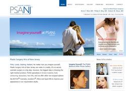 Health care website redesign, plastic surgery marketing, medical marketing