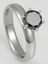 black diamond titanium ring, black diamond platinum ring, black diamond platinum titanium ring, 21st century ring, futuristic rings, black diamond titanium rings