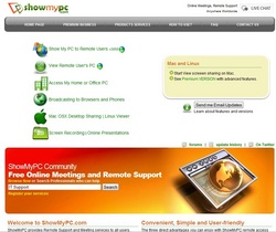 Free online meetings and remote support