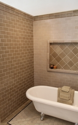Fireclay's Express Series in hemp bathroom installation