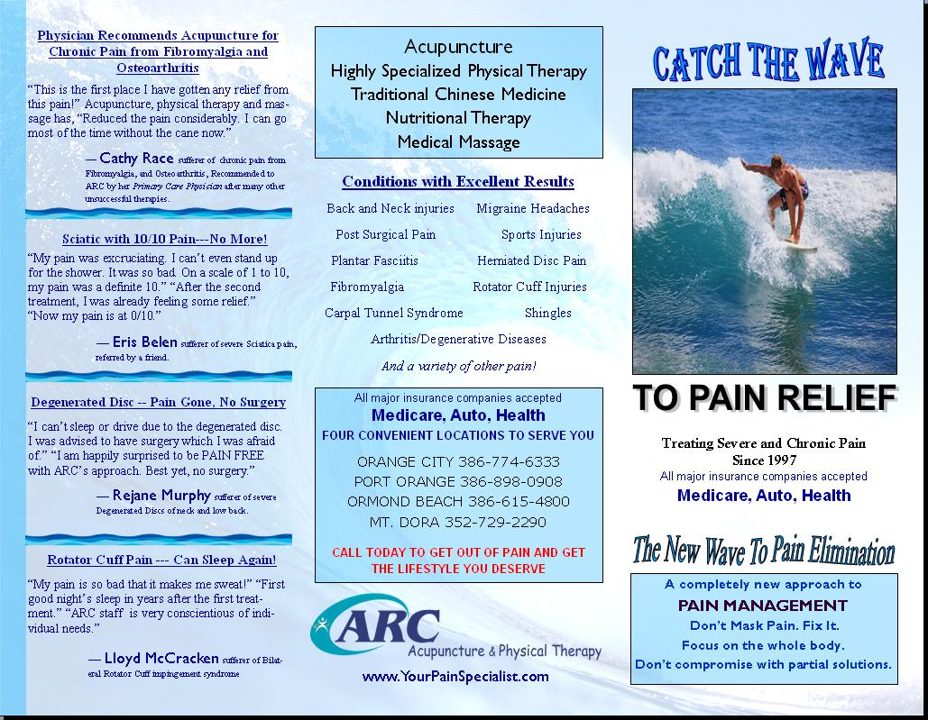 daytona beach back and neck specialist from arc acupuncture and physical therapy explains why