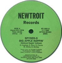 "The Original Label In 1980 For 12"" Single"