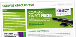 Compare Kinect Prices
