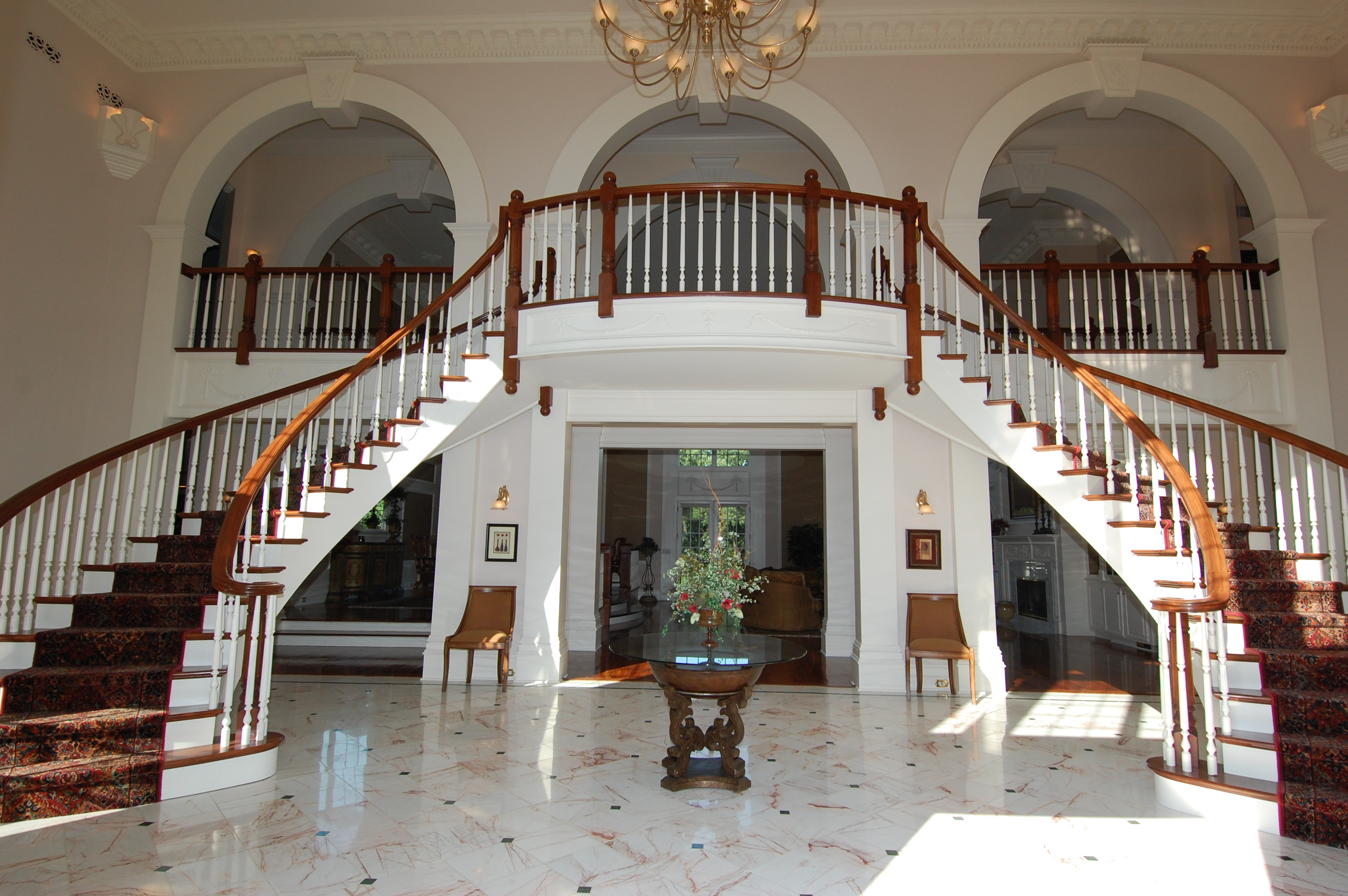 A Grand Foyer : Fine company wi llc to auction a palatial sq