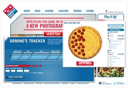 Domino's takes the number one online customer service rating.