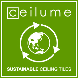 Ceilume Launches Sustainable Ceiling Tiles Made From