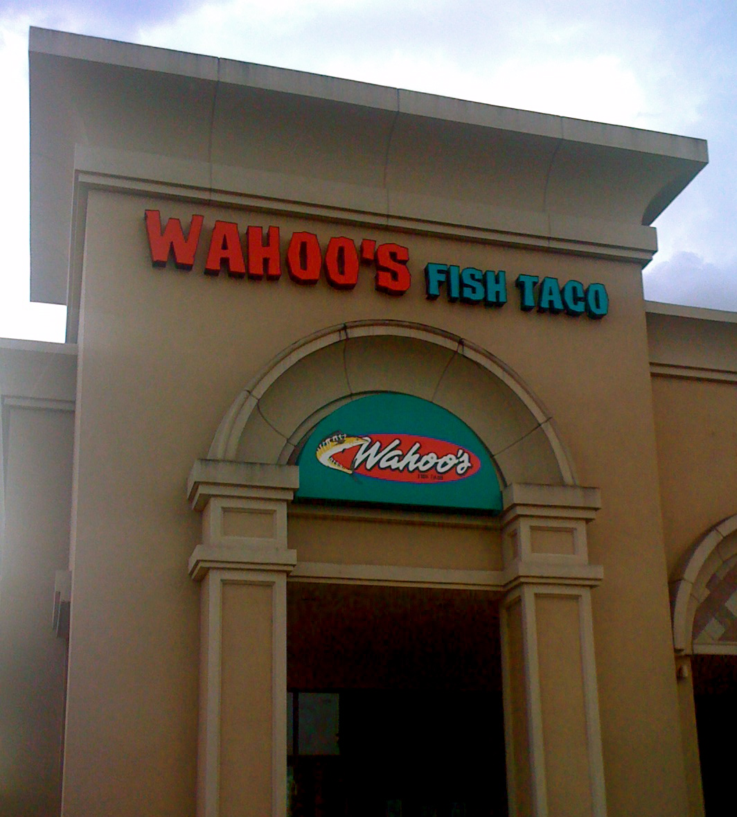 Wahoo 39 s fish taco launches first store in houston area as for Fish store houston