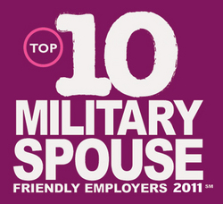 military spouse employers