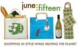 June Fifteen Jute Collection sample