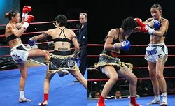 Julie Kitchen angie parr coc elite the women of cocelite sportaccord beijing jet li jackie chan muay thai muaythai olympics of martial arts yodsaenklai fairtex clifton brown WMC
