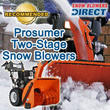 Snow Blowers Direct Announces Recommended Two-Stage Prosumer Snow...