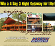 American Patriot Getaways Announces Sweepstakes: Winner Gets Free Yearly Cabin Vacation for Life