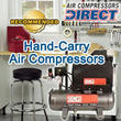 Air Compressors Direct Announces Best Hand-Carry Air Compressors