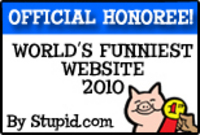 Stupid.com Funniest Website Badge