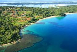 A Caribbean Island Resort In Panama