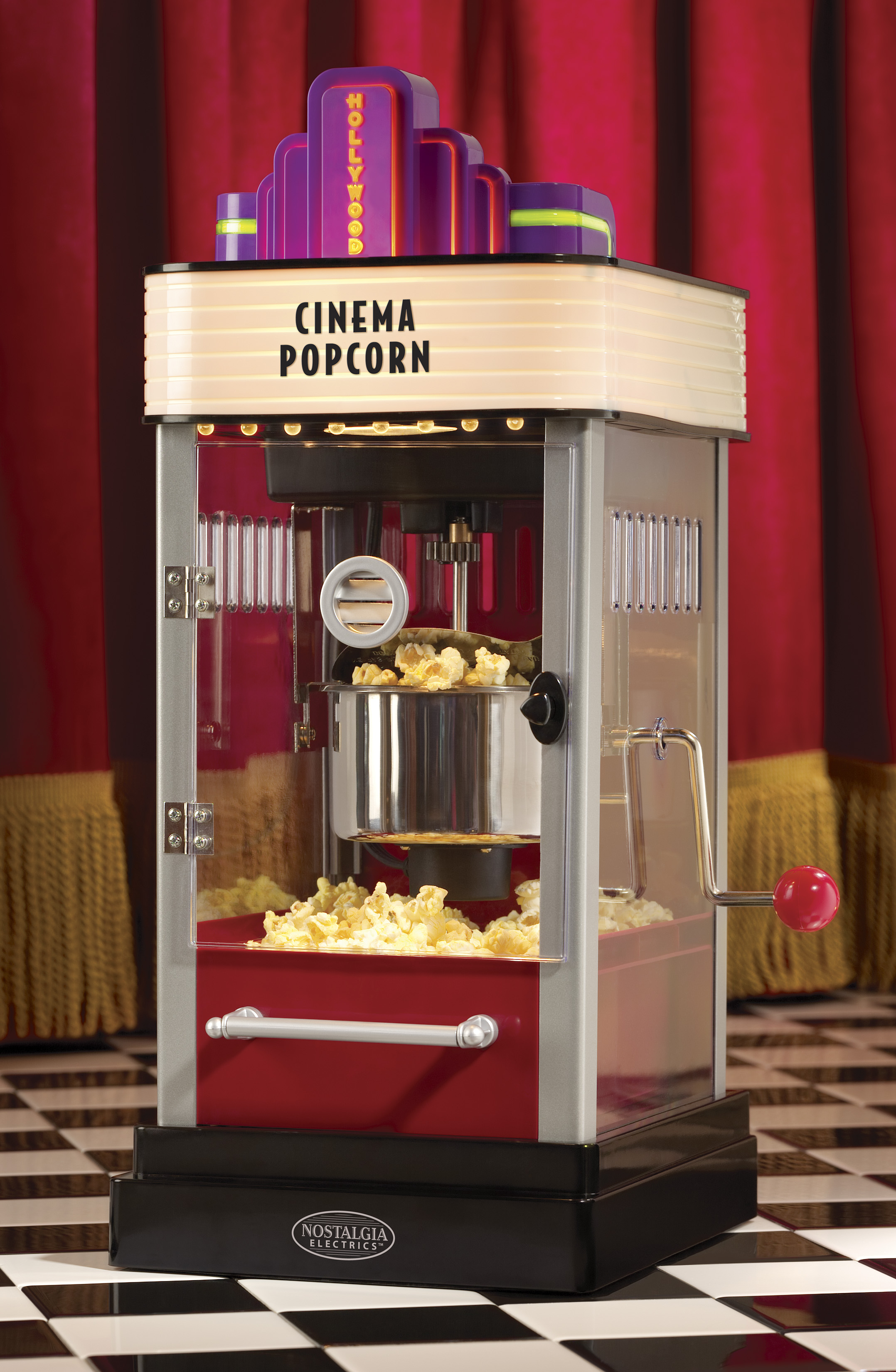Hollywood Series Electric Popcorn Makers By Nostalgia