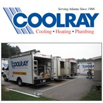 Coolray, an Atlanta heating and air conditioning company.
