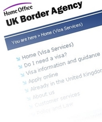 Easy to use UK visa website