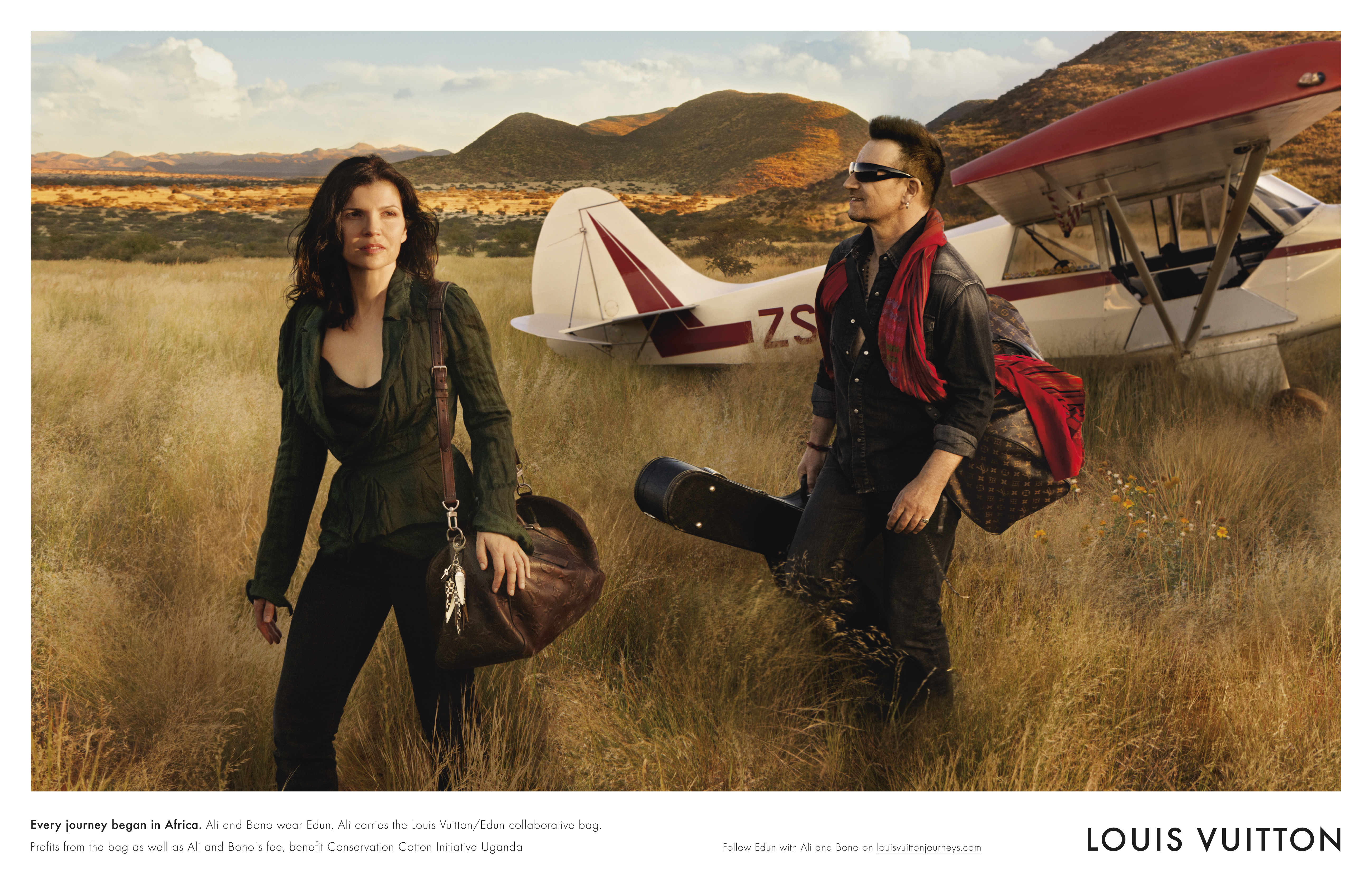 ali hewson and bono star in louis vuitton u0026 39 s core values