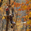 Banning Mills visitors zipping from tree to tree