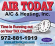 Plano A/C & Heating Service, Repair & Installation Company Offering End of Summer Blow Out Sale