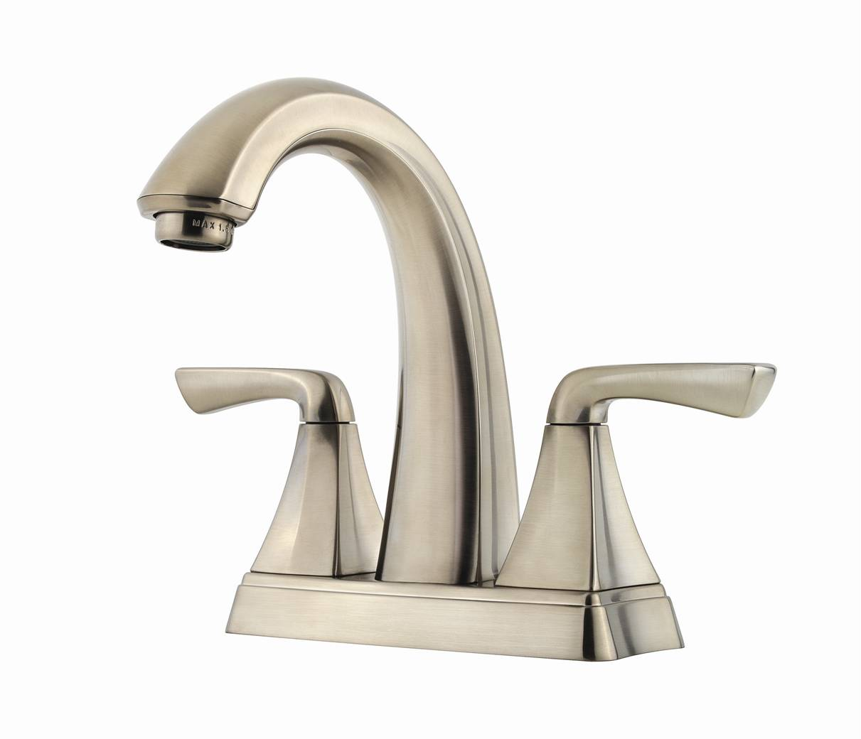 Price pfister debuts elegant selia bath faucet for Pictures of bathroom faucets