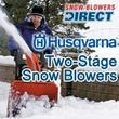 Snow Blowers Direct Adds Husqvarna Two-Stage Snow Throwers