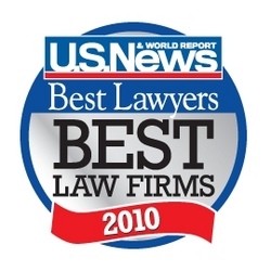 U.S. News Media Group and Best Lawyers 2010 Best Law Firms