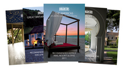 Conde Nast Johansens international luxury hotel guides 2011