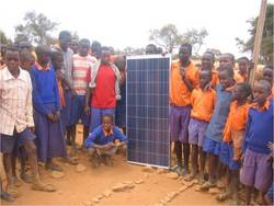 Gamewatchers Safaris providing solar pabels for school in Africa