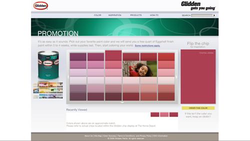 Glidden™ Paint Give-Away