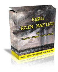 Real Rain making by Trevor James Constable