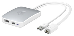 Kanex C247m - mini DVI to Mini DisplayPort with USB audio support