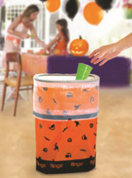 offers two for one cent halloween pop up trash cans and free shipping with a. Black Bedroom Furniture Sets. Home Design Ideas