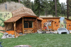 One Of A Kind Hobbit House Open For Visitors In Montana