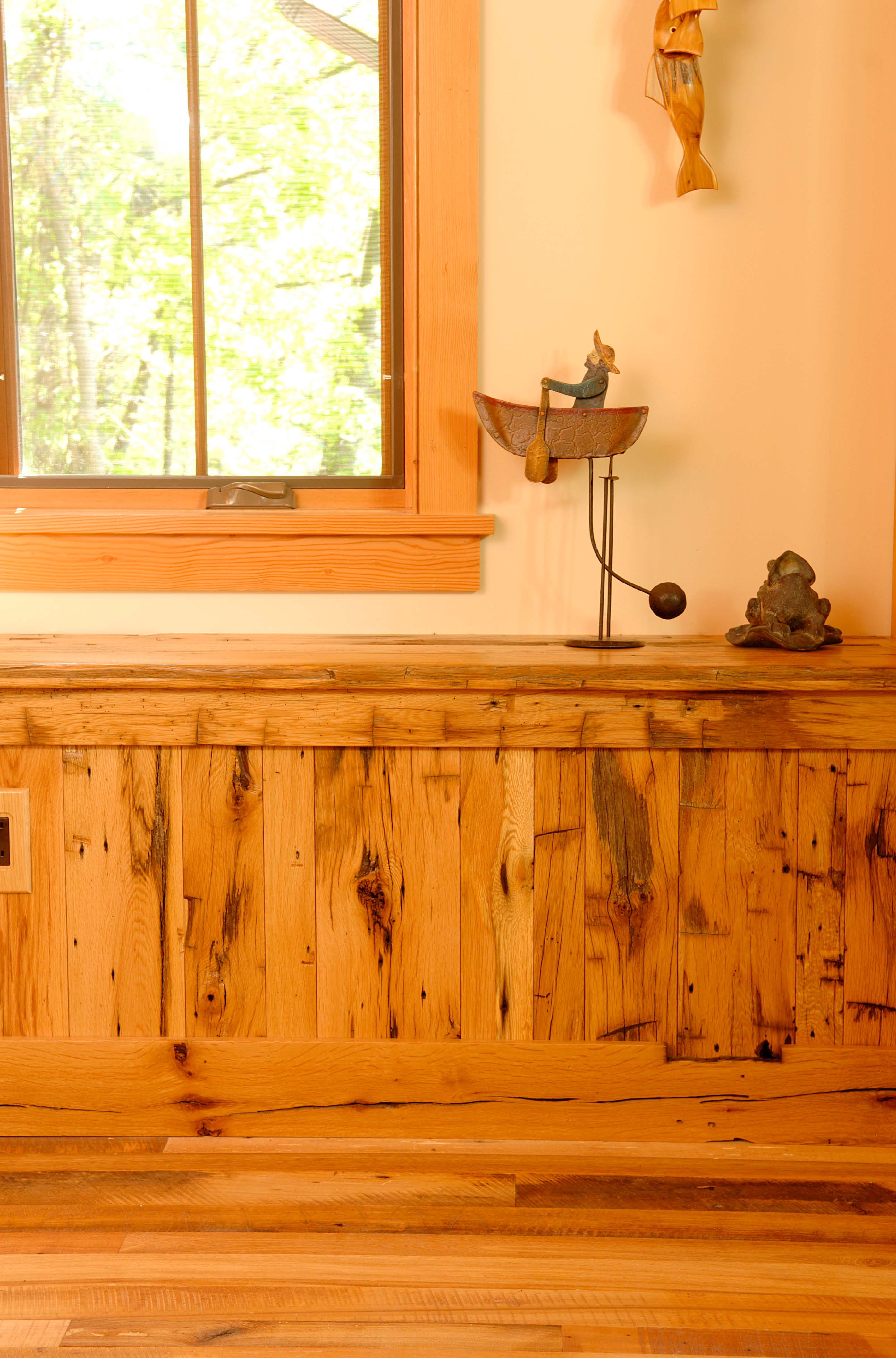 Antique Wood Paneling: New Use For Old Wood: Pioneer Millworks Announces