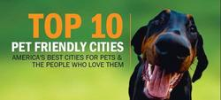 Livability.com ranks Portland, OR at the top of the list for Pet Friendly Cities.