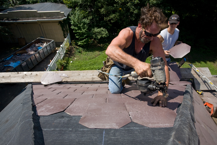 O Lyn Roofing Is Committed To Furthering Shingle Recycling