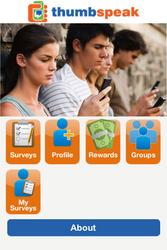 iPhone app, Mobile Relationship Marketing, Thumbspeak, free business application