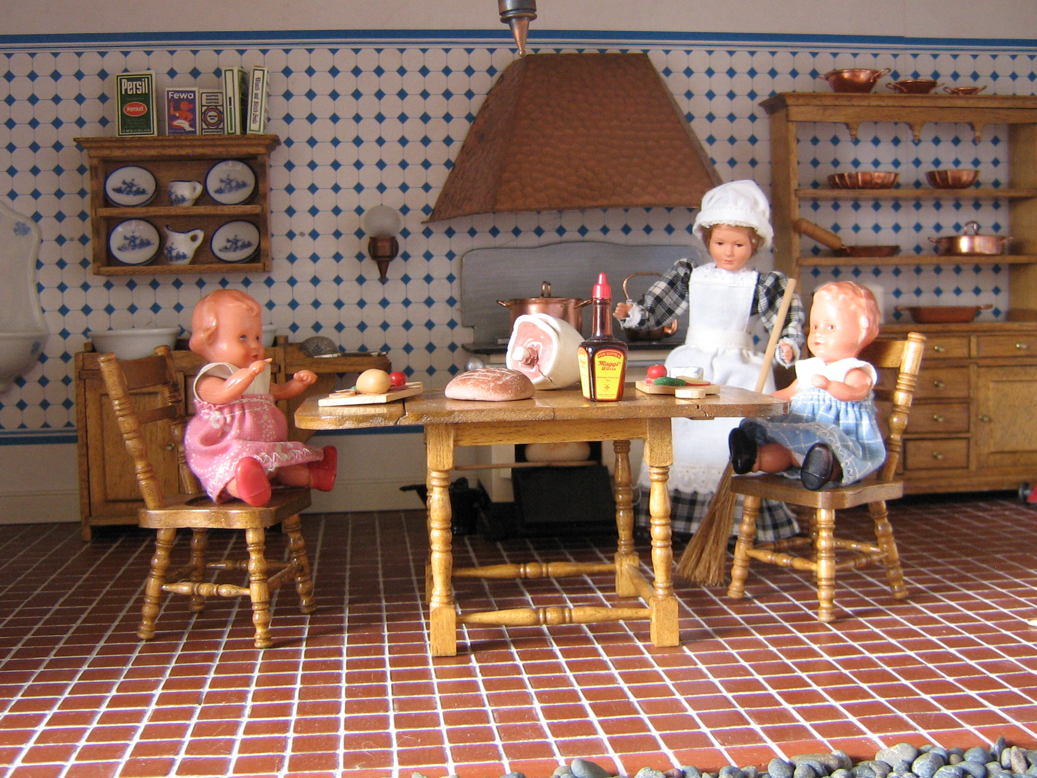 Kitchen Dollhouse Furniture Thedollhousecompanycom Launches New Website For Dollhouse