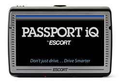 gI 0 PASSPORTiQ01 ESCORT Drives Into SEMA with all new PASSPORT iQ The Worlds First Fully Integrated Driving Accessory Featuring Radar Detector, GPS Navigation and Much More
