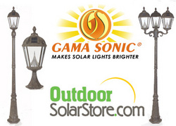 Solar Lamp Posts at outdoorsolarstore.com