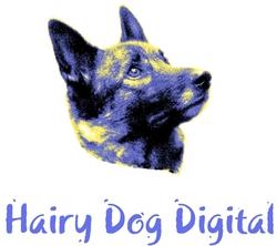 Hairy Dog Digital logo and icon
