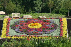 Amish, Indiana, Elkhart, Quilt Gardens, quilting, gardening