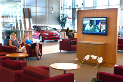 Toyota Dealership Rebuilds Facility And Brand Image With Scala Digital Signage