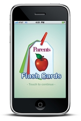 iPhone Parents Magazine Flash Cards mobile app home screen