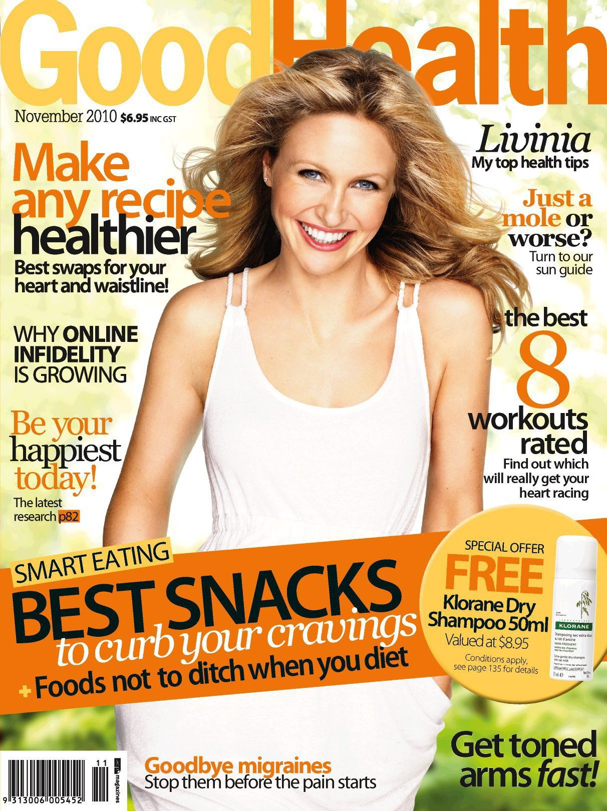 Happiness Is Catching In The New Issue Of Good Health Magazine
