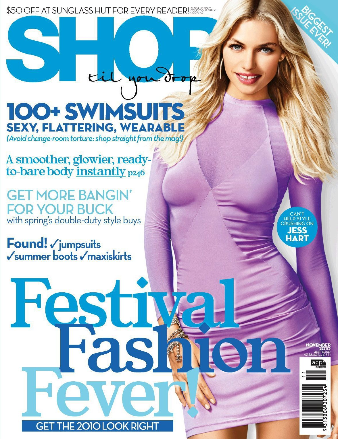 Get Your 2010 Fashion Look Right with the November Issue of Shop Til