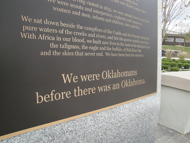 bronze memorial plaques tell story of tulsa race riots
