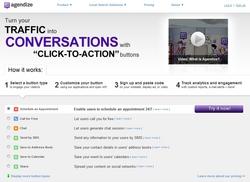 agendize click-to-action self-serve